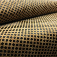 "Black Dots Print Cork - Cork Fabric - EcoFriendly - Made in Portugal 68x50cm / 27.50""x20"","