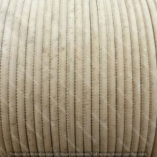 1m / 39 in - 3 mm Cork Cord White REF-89