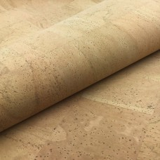 "Portuguese cork fabric - Cork Leather - Natural 68x50cm / 27.50""x20"""