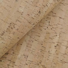 "Cork leather, green product, Portuguese cork fabric, 68x50cm/ 27.50""x20"", Bamboo pattern"