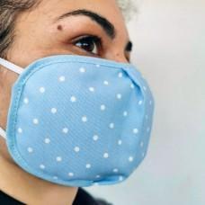 Blue Rectangular Tissue Adult Face Mask, Tissue Face Mask Reusable, Washable mask