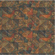 """Cork leather, green product, Portuguese cork fabric,tile Printed pattern 68x50cm / 27.50""""x20"""",(65)"""
