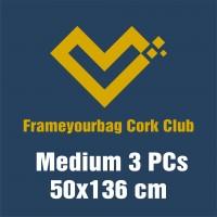 FrameYourBag Monthly Medium Cork Club Subscription - Auto renew