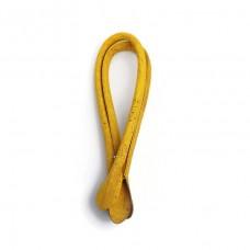 1 Pair of Cork fabric Yellow Rolled handbag handles 55cm