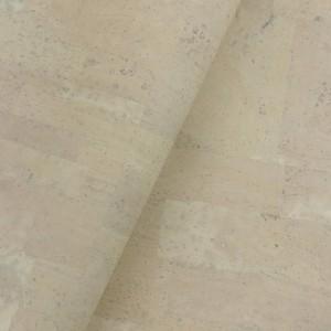 Cork leather - Portuguese cork fabric light yellow