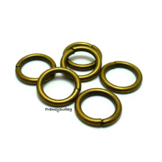 10 X  Rings 37mm inner - calable Buckles- Metal connection circle and Metal Scalable Buckles For Diy Handbag - RG012