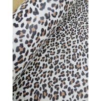 "Cork fabric, Printed pattern on white cork 68x50cm / 27.50""x20"", (23.5-s)"