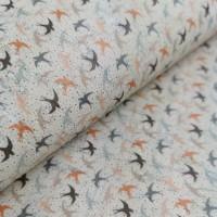 Cork leather - Portuguese cork fabric printed pattern on white cork (F21_08)