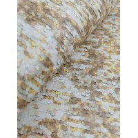"Cork fabric, Printed pattern on white cork 68x50cm / 27.50""x20"", (O25)"