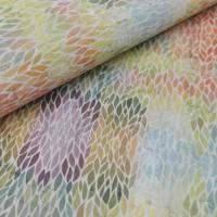 "Portuguese cork fabric, Printed pattern on white cork 68x50cm / 27.50""x20"" (S1)"