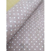 "Portuguese cork fabric, Printed pattern on light pink 68x50cm / 27.50""x20"" (S76)"