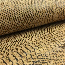 "Cork leather, green product, Portuguese cork fabric piton 70x45cm / 27.50""x19"""