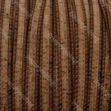 1 Meter Portuguese flat Cork 10x2mm, Brown and Natural, finding, jewelry supplies, bracelet, purse, bag, wrap bracelet