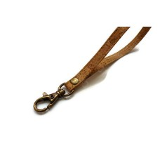 1 Genuine leather cork handbag wristle strap ,bag strap,purse strap,purse handles,16cm hook antique brass