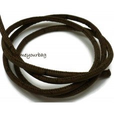 120 meter/ 131,23 yd  - 5 mm Genuine Cork Cord Brown (European product)