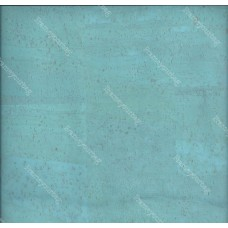 100x140cm Cork leather, green product, Portuguese cork fabric light blue (80.232)