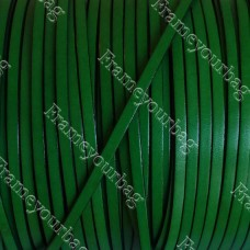 1 Meter/ 3,28 ft - 5x2mm green with black REF-  (European product)