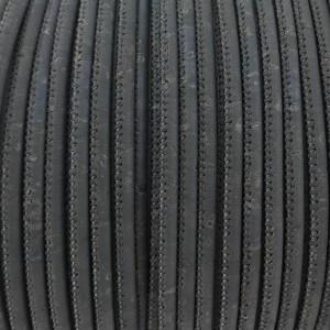 1 meter - 3 mm Genuine Cork Cord Gray (European product) ref-440