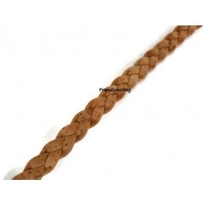 1 meter - 1.09 yd - 10mm flat cork braid - Portuguese cork REF-450