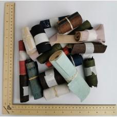 Cork fabric Scrap by weight - SCRAP Cork Fabric Assortment