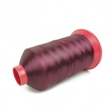 6000 meters of Cork Sewing Thread - Lubricated polyester thread, polyester floss Bordeaux