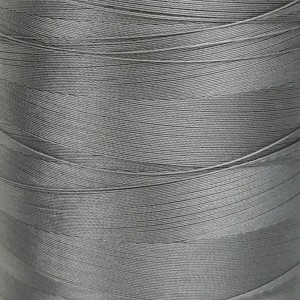 6000 meters of Cork Sewing Thread - Lubricated polyester thread, polyester floss Gray
