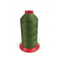 5000 meters of Cork Sewing Thread - Lubricated polyester thread, polyester floss Green
