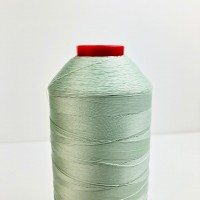 5000 meters of Cork Sewing Thread - Lubricated polyester thread, polyester floss Green Aqua