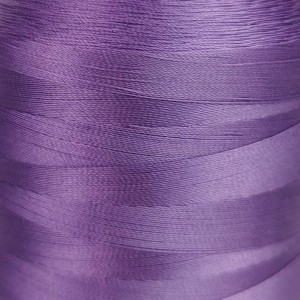 6000 meters of Cork Sewing Thread - Lubricated polyester thread, polyester floss Purple