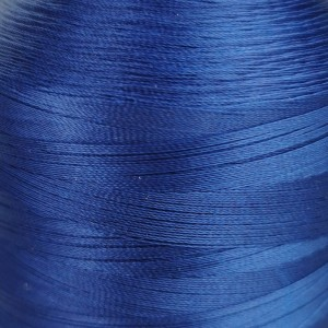 6000 meters of Cork Sewing Thread - Lubricated polyester thread, polyester floss Royal Blue