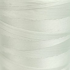6000 meters of Cork Sewing Thread - Lubricated polyester thread, polyester floss White