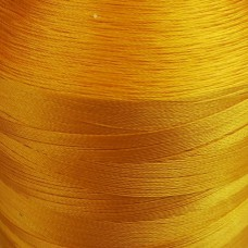 6000 meters of Cork Sewing Thread - Lubricated polyester thread, polyester floss Yellow
