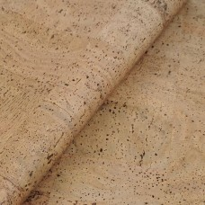 "Cork Fabric Tabac 50x68 cm / 27.50""x20"" - Portuguese cork leather"